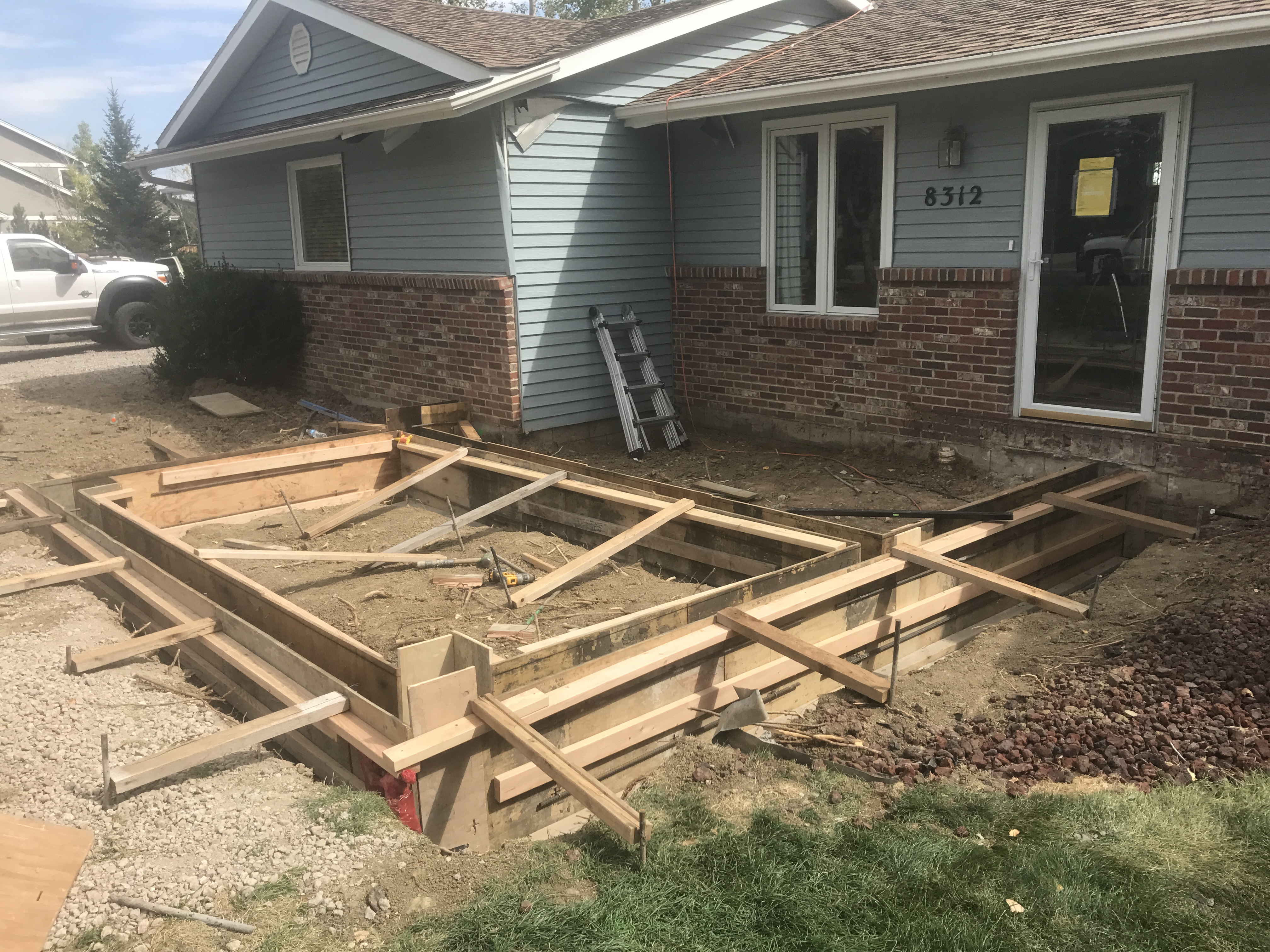 Garage Additions Foundations Fort Collins Co Pour Brothers
