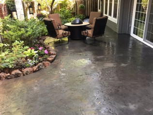Decorative concrete patios in Fort Collins, CO